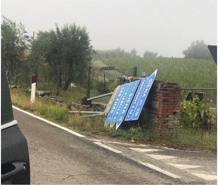 Provincia di Siena, Castelnuovo: Si continua a lavorare dopo l'ondata di maltempo. Ancora delle utenze senzacorrente