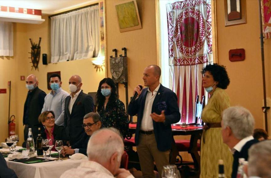 Palio di Legnano, Contrada San Bernardino: Resoconto Cena di Apertura 2020-2021 del26/09