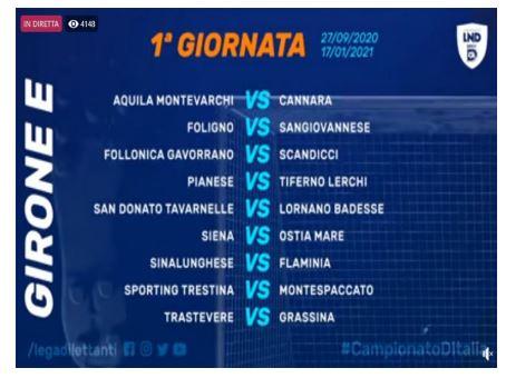 Siena, ACN Siena 1904: 27/09 1^ Giornata ACN Siena-OstiaMare