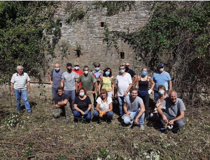 Siena: Le Mura, continua il lavoro di recupero della cinta muraria di Siena assieme alleContrade