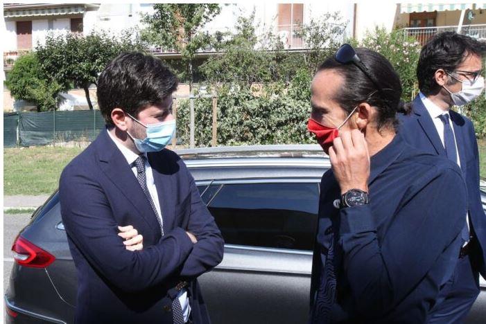 Siena: Il Ministro Speranza ha incontrato Fulvio Mancuso, segretario provinciale diArticoloUno