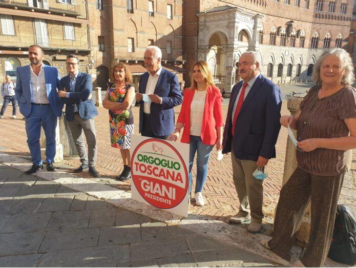 """Siena, Orgoglio Toscana, Giani: """"Sondaggi? Sono ottimista"""" – Leinterviste"""
