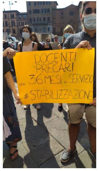 """Siena, """"Incostituzionalità nel concorso"""": I docenti precari chiedono l'intervento diMattarella"""