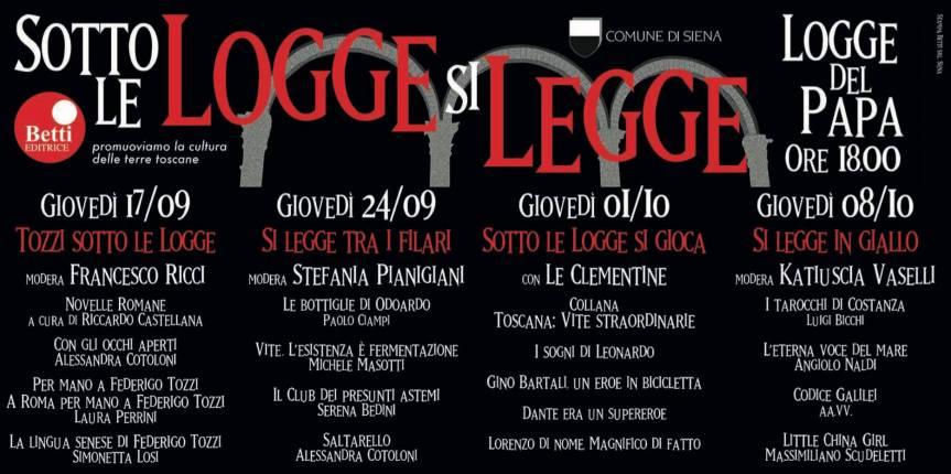 Siena: Sotto le Logge… sigioca