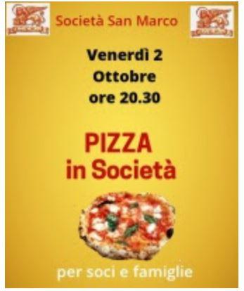 Siena, Società San Marco: 02/10 Pizza inSocietà