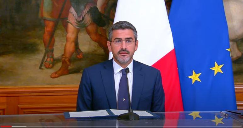 Italia: Spazio, il Sottosegretario Fraccaro firma l'accordo di cooperazione Italia-StatiUniti