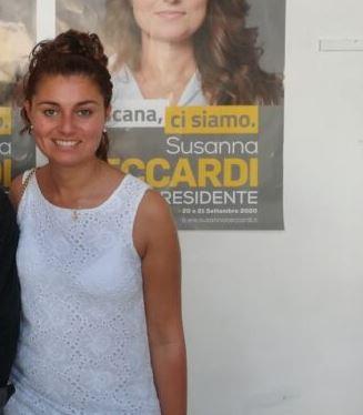 Provincia di Siena: Susanna Ceccardi aPoggibonsi