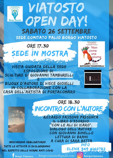 Palio di Asti, Borgo Viatosto: 26/09 Viatosto OpenDay