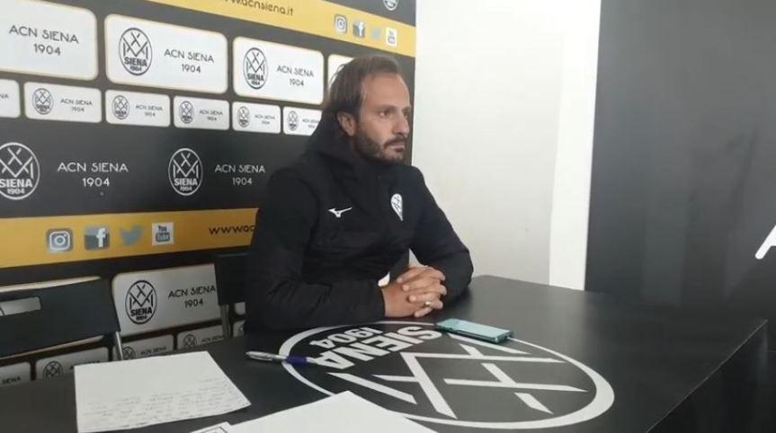 Siena, Acn Siena: Oggi 09/01 la conferenza stampa di Gilardino pre Siena-Trestina di domani10/01