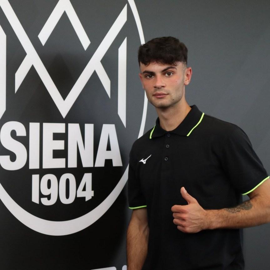Siena, ACN Siena 1904: Alessandro Martina  è un nuovo giocatorebianconero