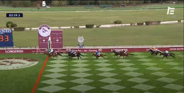 Ippica, Francia: Oggi 04/10 A Longchamp Sottsass Vince l'edizione 2020 dell'Arc deTriomphe
