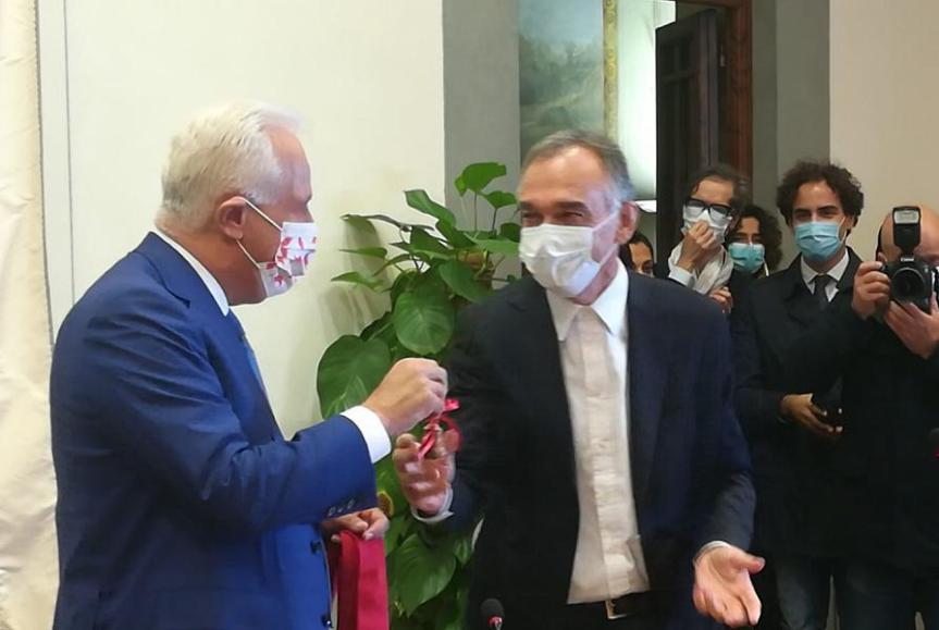 Toscana: Campanella e cravatta rossa, Giani proclamato presidente dellaRegione