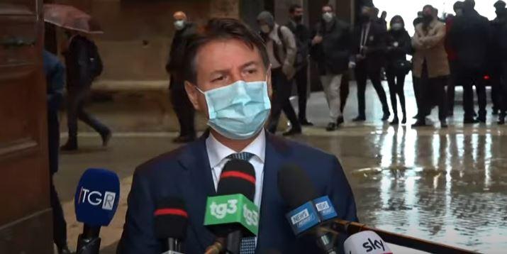 Italia: Il Presidente Conte aTaranto