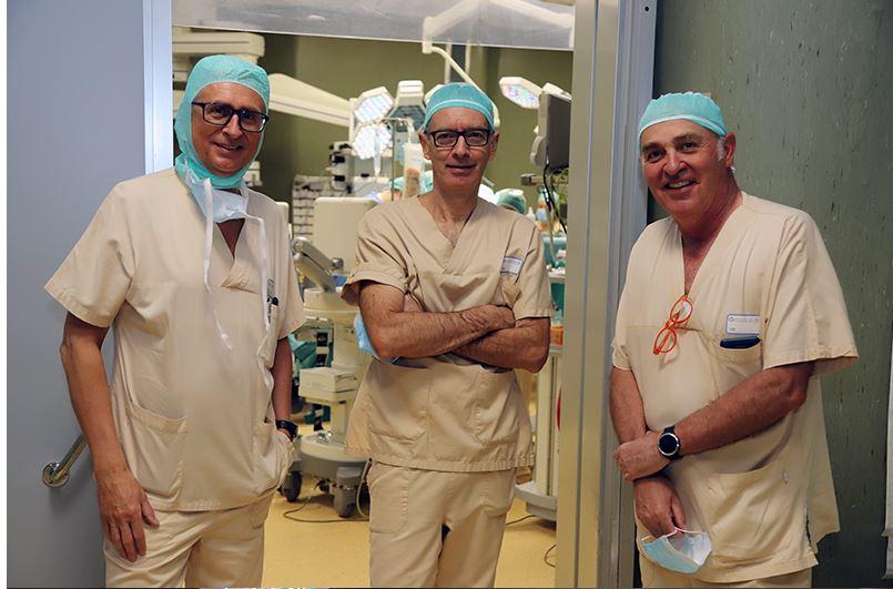 """Siena: Intervento """"in due tempi"""" permette di asportare metastasi al fegato in prossimità della vena cava e tumore primitivo delcolon-retto"""