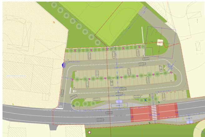 Siena: Oggi 02710 La Giunta comunale ha approvato il progetto di fattibilità tecnica ed economica del #parcheggio scambiatore dellaCoroncina