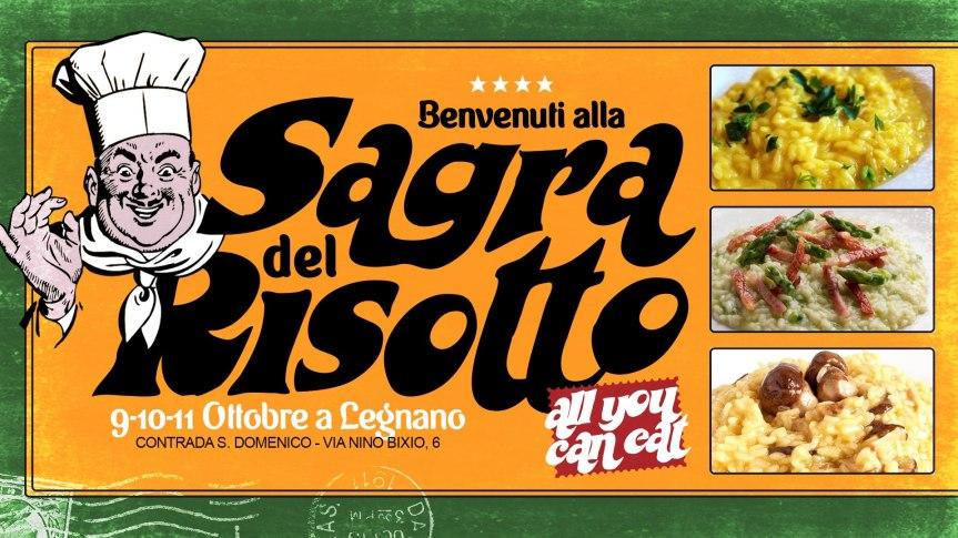 Palio di legnano, Contrada San Domenico: 09-10-11/10 Sagra del Risotto ✦ Risotti All You Can Eat! ✦Legnano