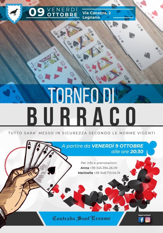 Palio di Legnano, Contrada Sant?erasmo: 09/10 Torneo diBurraco