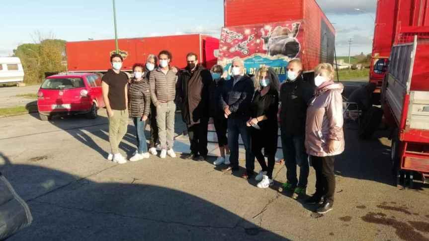 Siena, animali del circo affamati: Siena simobilita