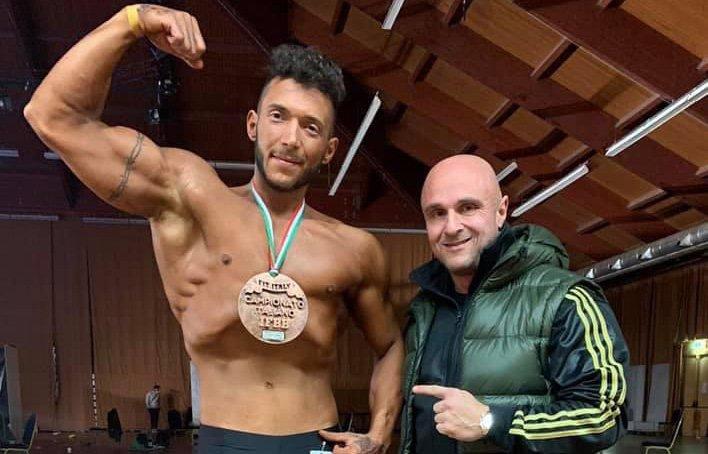Siena, Bodybuilding: Il senese Bruno Vannocci arriva terzo alla sua prima garaufficiale
