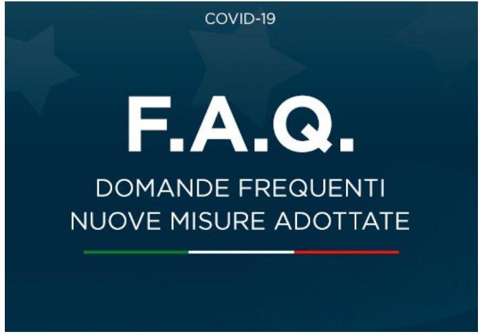 Italia: Domande frequenti sulle misure adottate dalGoverno