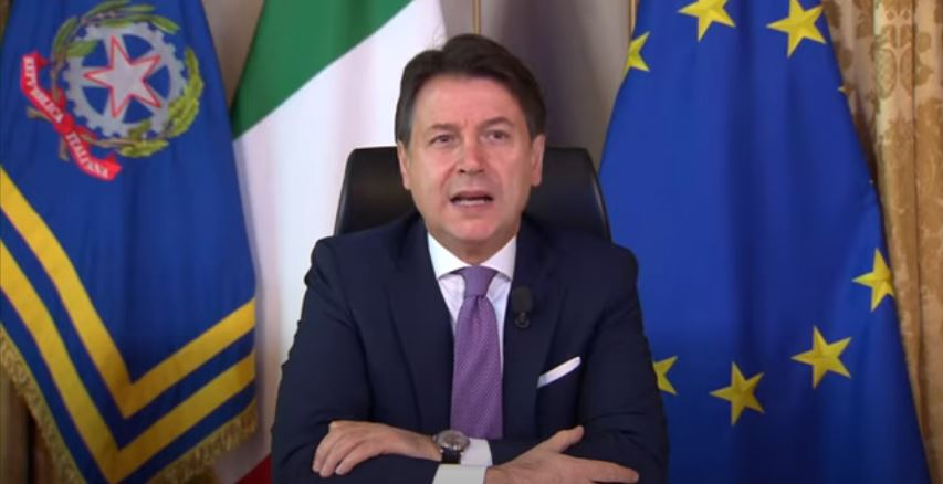 Italia: Conte interviene all'Assemblea Fipe2020