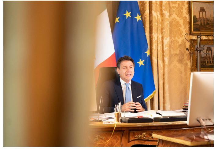 Italia: Conte interviene alla presentazione del Rapporto Svimez2020