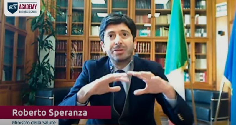 Italia, Speranza: «L'indice Rt è in calo, è possibile che già in settimana scendaulteriormente»