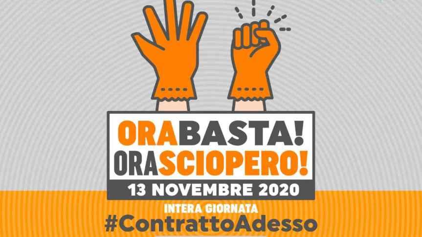 Siena: Venerdì 13 lo sciopero di 600mila addetti alle pulizie, servizi intergrati emultiservizi
