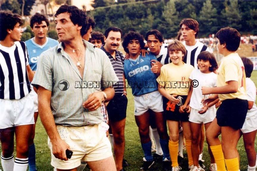 """Siena,Diego Maradona, il ricordo di Nicola Natili: """"Quella volta che mi sedetti davanti al Pibe deOro"""""""