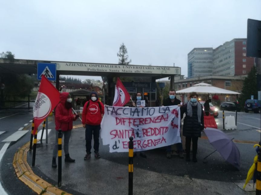 "Siena, Potere al popolo: ""La crisi venga pagata tassando i grandi patrimoni e lemultinazionali"""