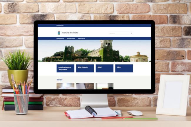 Provincia di Siena,: Sovicille, il nuovo portale del Comune è online: cresce l'attenzione alcittadino