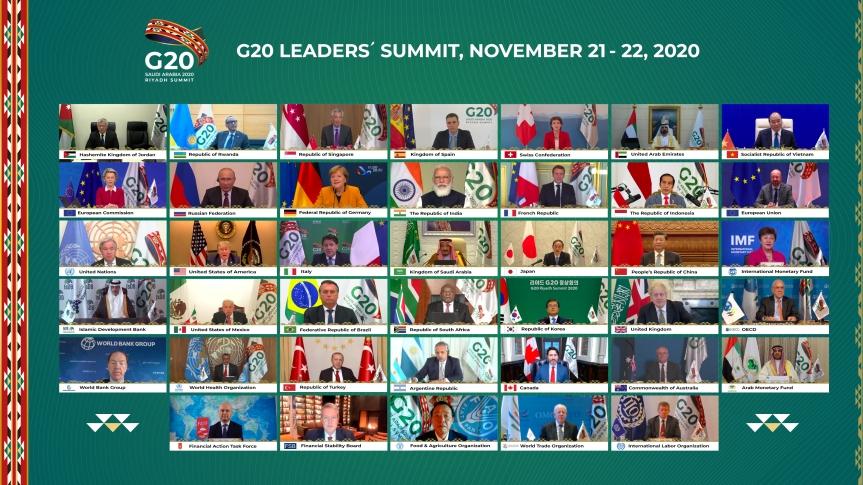 Italia: Conte partecipa al Vertice G20 diRiad