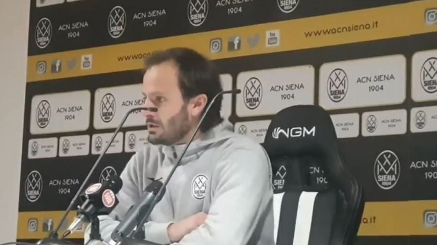 Siena, Acn Siena: Comunicato della Società bianconera, Gilardino non è più l'allenatore delSiena