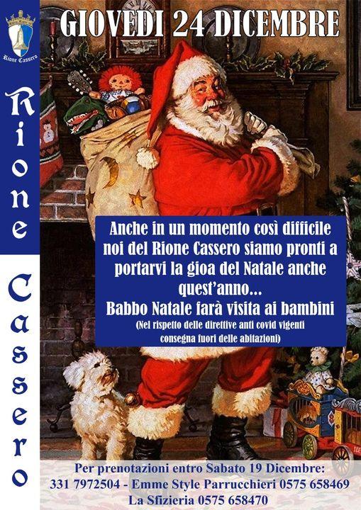 palio di Castiglion Fiorentino, Rione Cassero: 24/12 Arriva BabboNatale