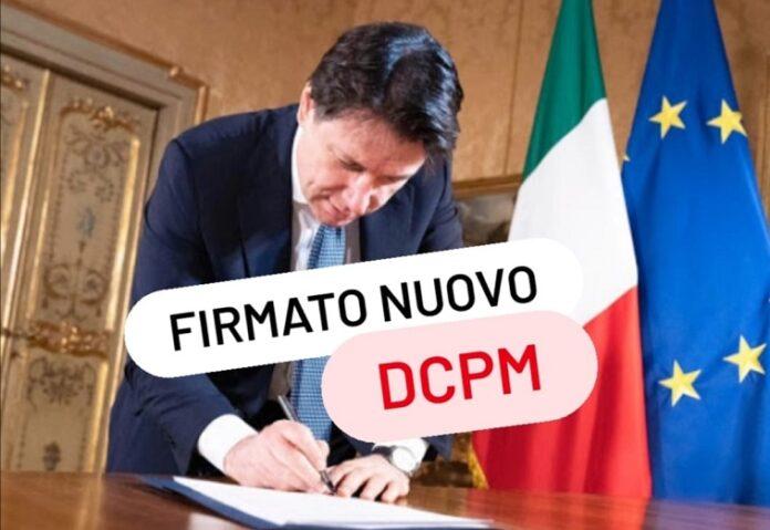 Italia: Coronavirus, il Presidente Conte firma il Dpcm del 14 gennaio2021