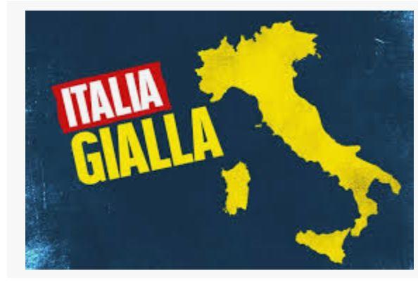 Italia, Covid, dopo Epifania si ricolorerà di giallo. Le Regioni: Lo sci parta il18