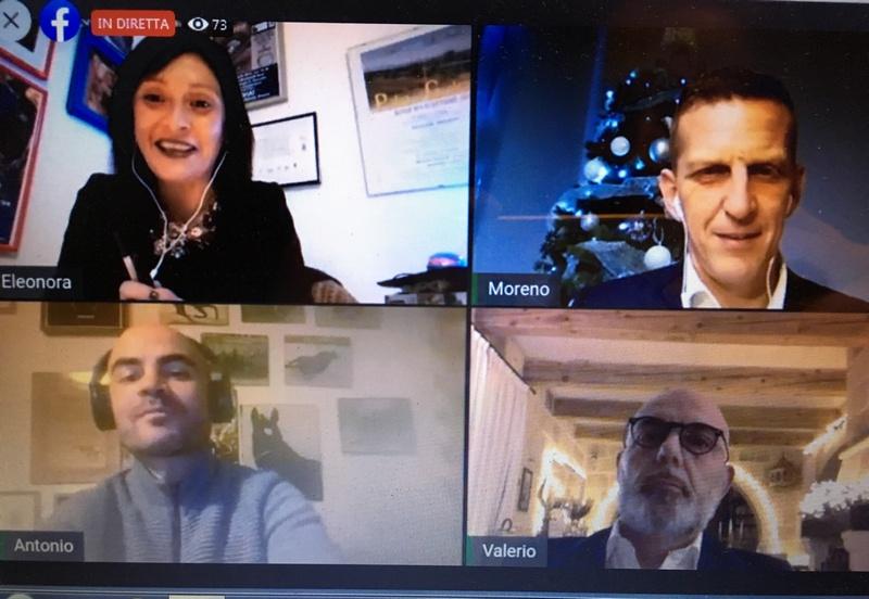 """Palio di Legnano, Contrada San Domenico:  Ieri 18/12 """"Pagine di Palio"""", in diretta streaming Moreno Giusti, Valerio Asti e Antonio Siri intervistati da EleonoraMainò"""