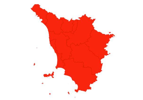 Toscana, Giani: Da lunedì 29/03 fino al 06/04 la Regione torna in ZonaRossa