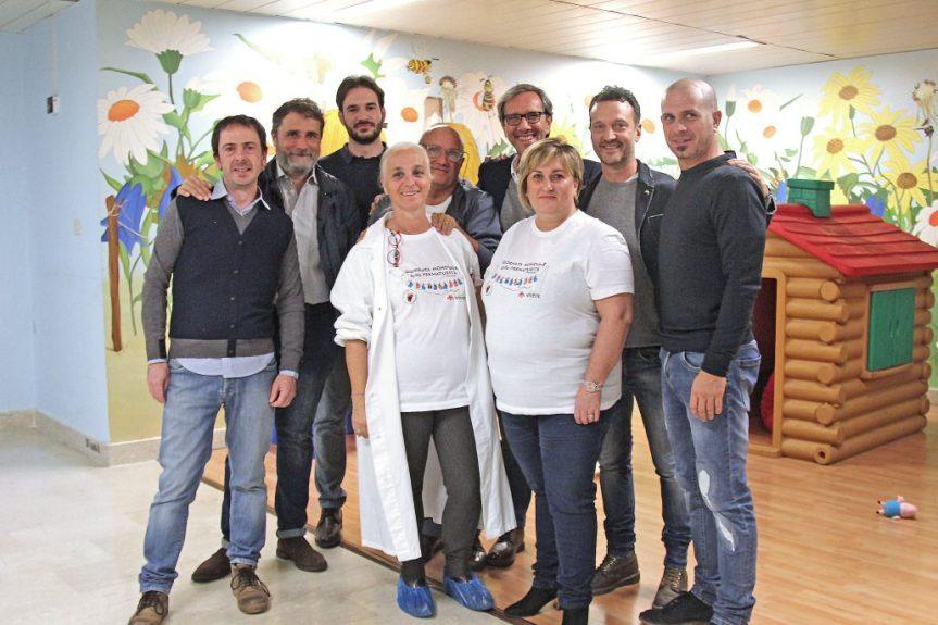 Palio di Siena, Comitato Amici del Palio: La donazione all'Associazione Coccinelle – Amici delNeonato