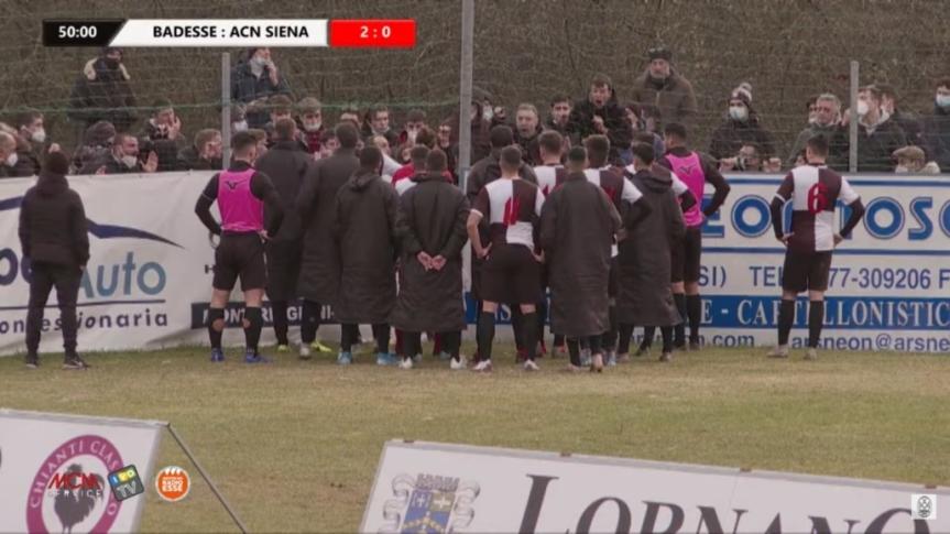 Siena, Acn Siena: A fine partita squadra contestata dai tifosi presenti all'esterno dell'impianto