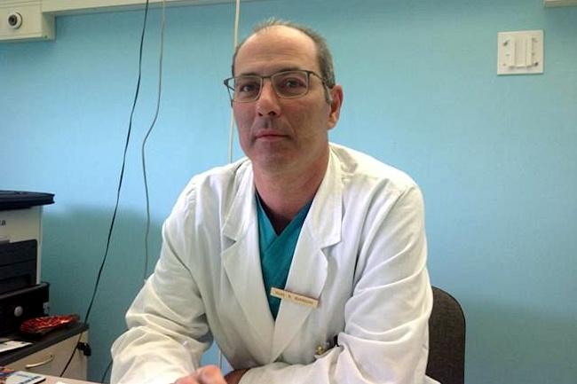 Siena: Il dottor Alessandro Bianchi direttore dell'Area dipartimentale chirurgicasenese