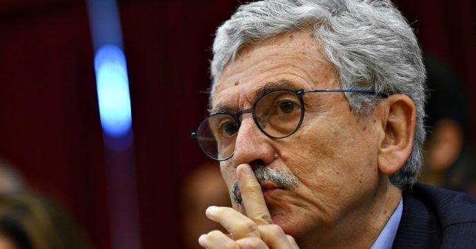 """Italia, Crisi di governo, D'Alema: """"Non si manda via l'uomo più popolare del Paese per fare un favore a quello piùimpopolare"""""""