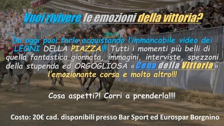 Palio di Asti, Comitato Palio Baldichieri: Disponibile il video della Vittoria Palio2019