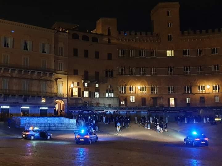 Siena: Controlli anti movida nelweekend