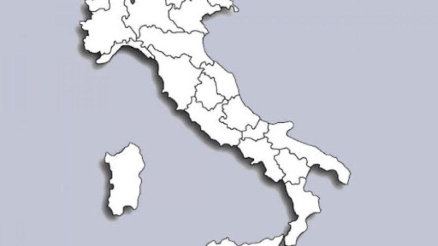 Italia: Quali regioni possono diventare zonabianca?