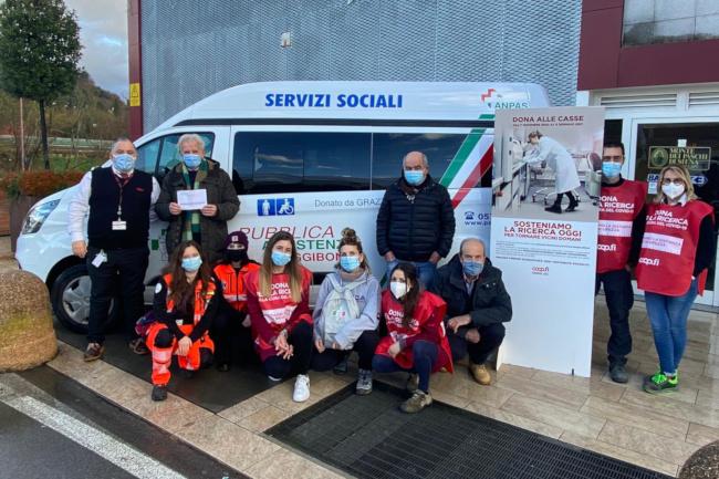 """Provincia di Siena,: La Pubblica Assistenza di Poggibonsi aderisce alla campagna """"Sosteniamo la ricercaoggi"""""""
