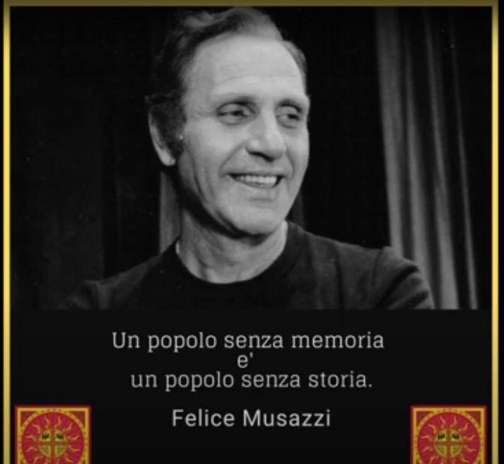 Palio di legnano, Contrada Legnarello:  Oggi 10/01 Video in memoria del centenario della nascita di FeliceMusazzi