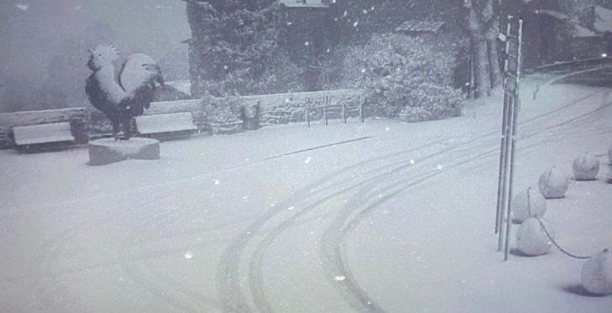 Provincia di Siena: Al mattino neve ma le previsioni sonocambiate