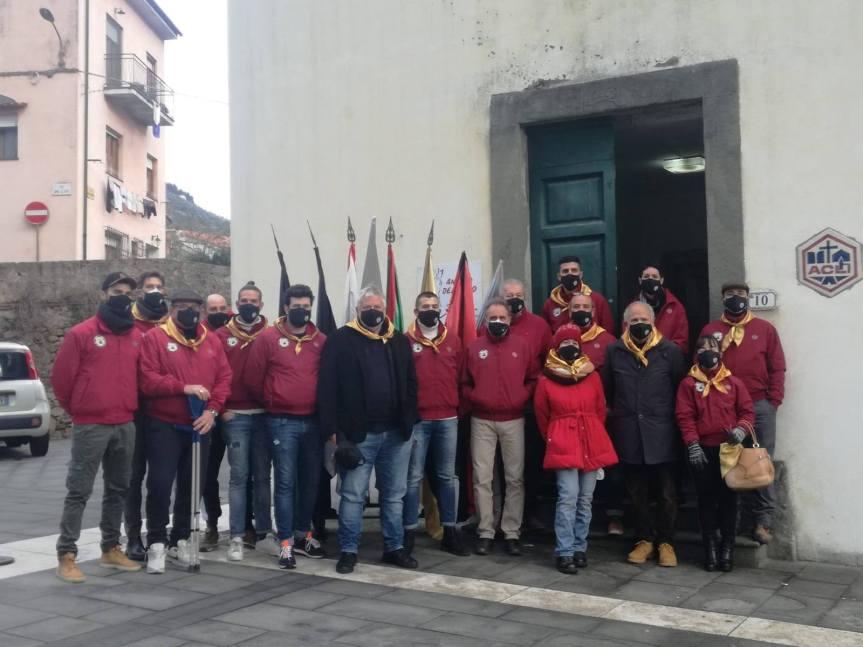 Palio di Buti: Ieri 17/01 Messa officiata dall'Arcivescovo di Pisa Mons. Benott e riconsegna Sant'antonio da parte diAscensione