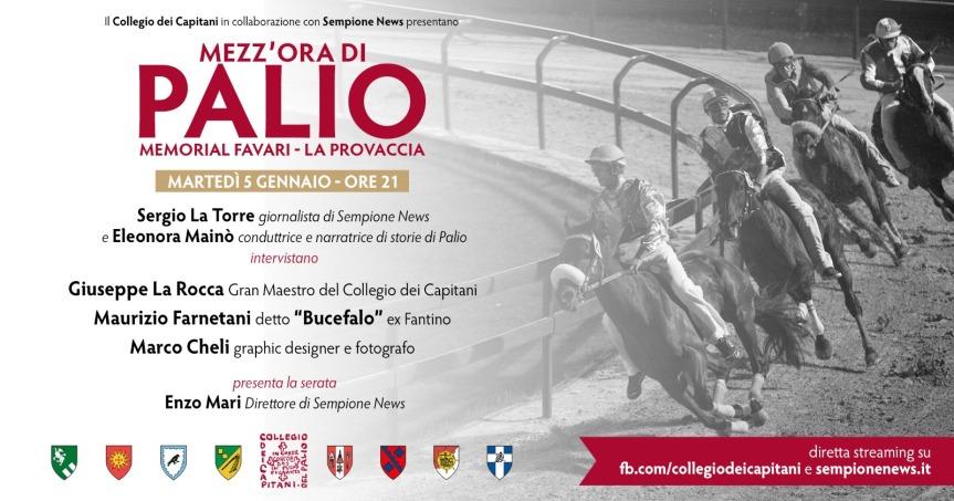 """Palio di Legnano: 05/01 """"Mezz'ora di Palio. Memorial Favari-LaProvaccia"""""""